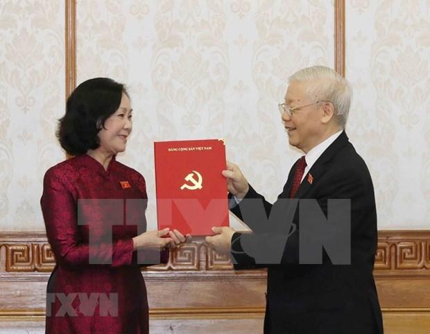 Designan a nuevos jefes de comisiones del Partido Comunista de Vietnam hinh anh 1