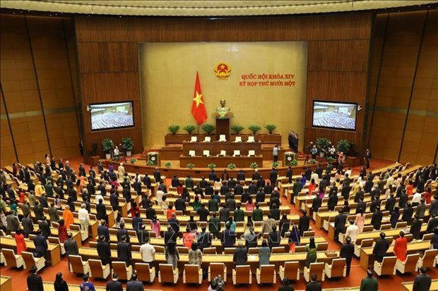 Asamblea Nacional de Vietnam cierra ultimo periodo de sesiones de XIV legislatura hinh anh 2