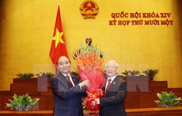 Periodico sudafricano: Vietnam posee alta confianza en nuevo contingente de dirigentes hinh anh 1