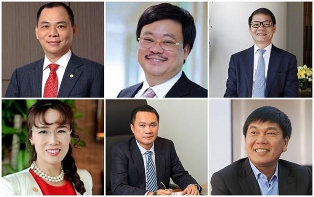 Seis vietnamitas se encuentran entre los mas ricos del mundo hinh anh 1