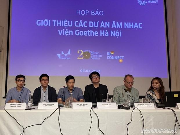 Presentan en Hanoi programas musicales para promover la conexion entre artistas vietnamitas y alemanes hinh anh 1