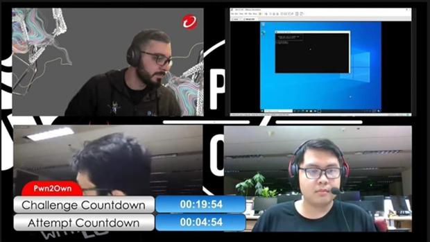 Honran a experto vietnamita en concurso internacional de hackers Pwn2Own 2021 hinh anh 1