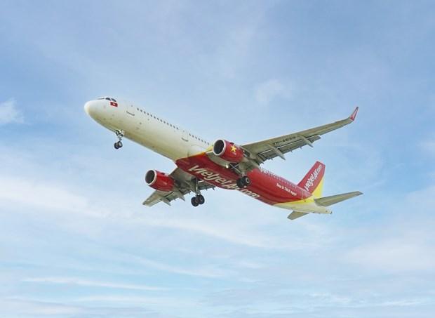 Aerolinea Vietjet se une a Hanoi para estimular el turismo hinh anh 1
