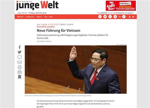 Aprecia prensa alemana nueva dirigencia de Vietnam hinh anh 1