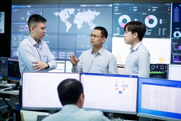 Grupo vietnamita de telecomunicaciones gana Premio Mundial a la Excelencia en Ciberseguridad 2021 hinh anh 1