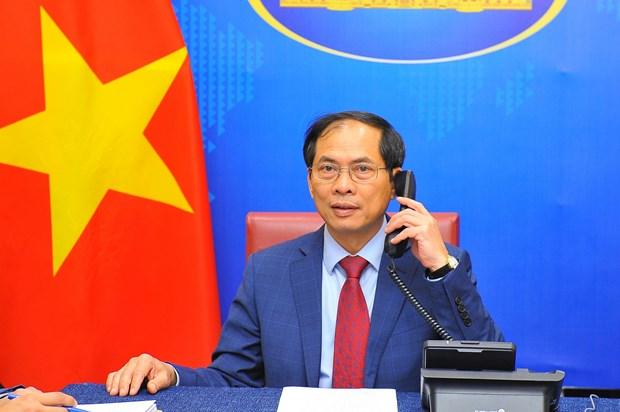 Laos, Camboya e Indonesia felicitan al nuevo canciller de Vietnam hinh anh 1