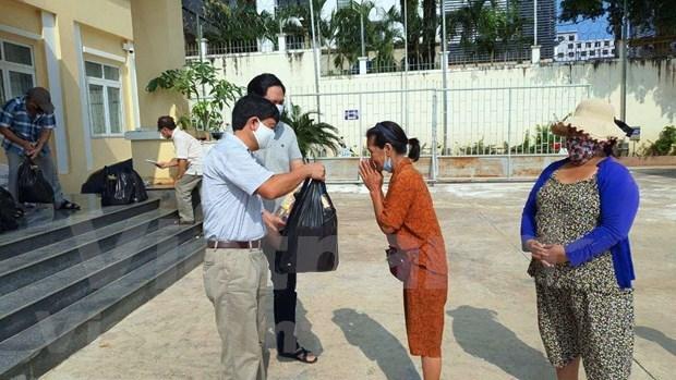 Respaldan a vietnamitas en Camboya en motivo del festival de Ano Nuevo Chol Chhnam Thmey hinh anh 1