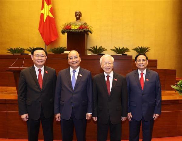 Siguen llegando felicitaciones de lideres mundiales a dirigentes de Vietnam hinh anh 1