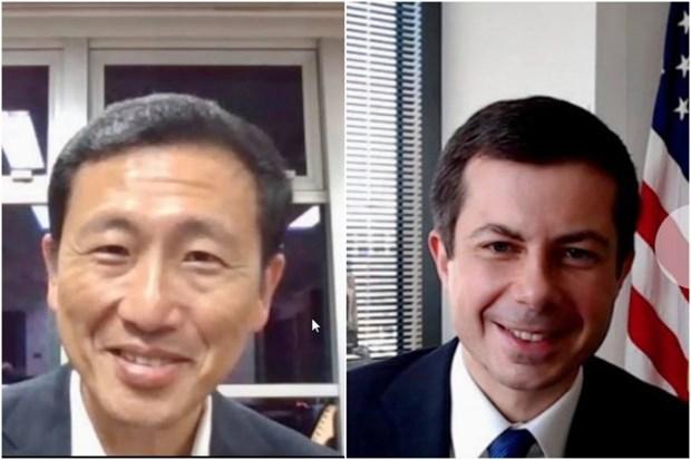 Singapur y EE.UU. amplian cooperacion en transporte en medio del COVID-19 hinh anh 1
