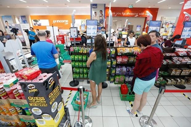Disminuye tasa de desempleo de Singapur por cuarto mes consecutivo hinh anh 1