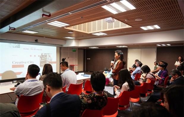 Promueven bienes culturales para convertir a Hanoi en capital de la creatividad hinh anh 1