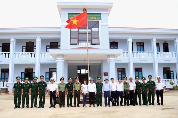 Inspeccionan preparativos para eleccion de diputados en distrito insular vietnamita de Truong Sa hinh anh 1