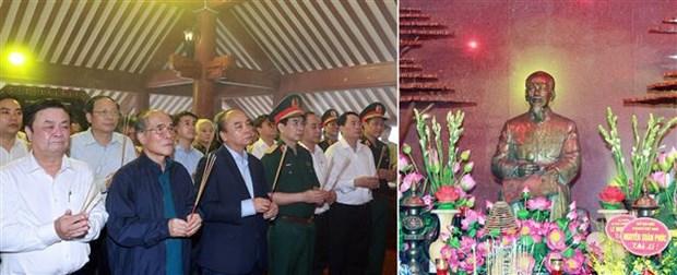 Lanzan movimiento de plantacion de arboles para expresar gratitud a Ho Chi Minh hinh anh 2