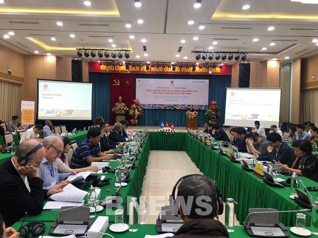 Efectuan seminario acerca de proyecto del desarrollo urbano en Vietnam hinh anh 1
