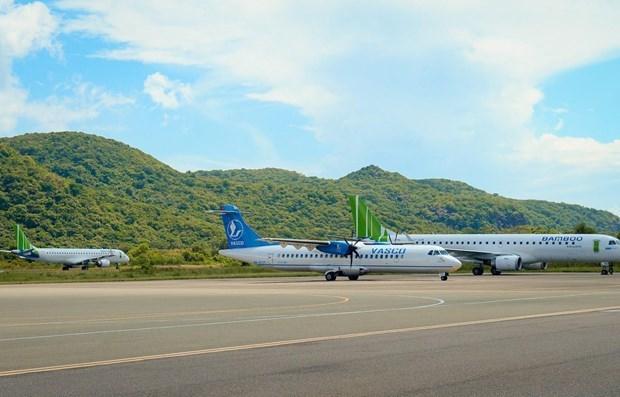 Planean mejorar capacidad operativa del aeropuerto vietnamita de Con Dao hinh anh 1