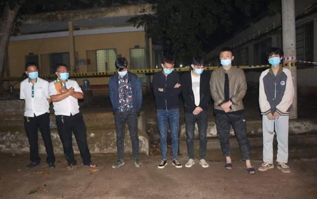 Detienen a extranjeros por entrar ilegalmente en provincia vietnamita de Binh Phuoc hinh anh 1