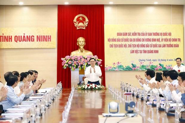 Revisan preparativos de elecciones en provincia vietnamita de Quang Ninh hinh anh 2
