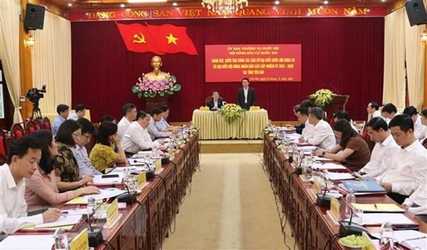 Inspeccionan preparativos en provincia vietnamita para proximas elecciones hinh anh 1