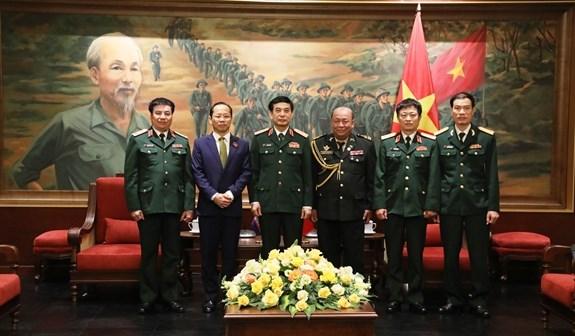 Vietnam fortalece cooperacion en defensa con Laos, Camboya y Rusia hinh anh 2