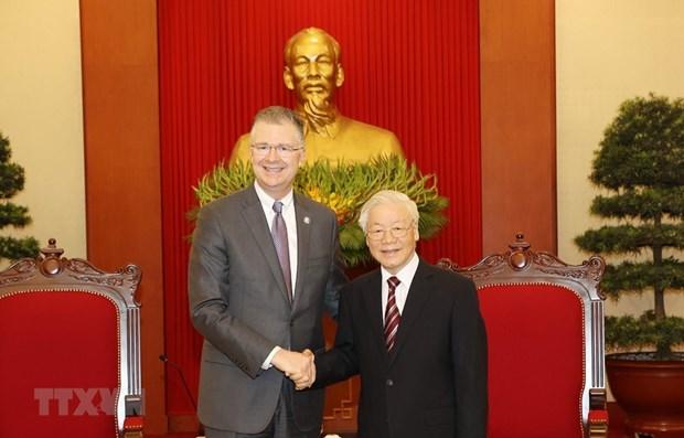Reafirman deseo de fomentar asociacion integral Vietnam- EE.UU. hinh anh 1