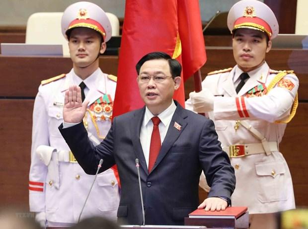 Presidente de Duma Estatal de Rusia felicita a nuevo presidente de la Asamblea Nacional de Vietnam hinh anh 1