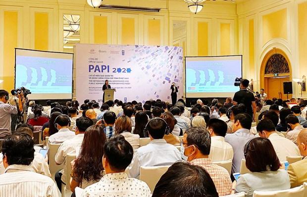 Indice del control de la corrupcion en Vietnam alcanza mejor nivel en 2020 hinh anh 1