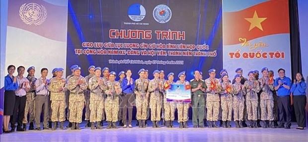Valoran contribucion de cascos azules vietnamitas al mantenimiento de la paz hinh anh 1