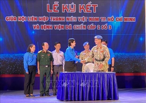 Valoran contribucion de cascos azules vietnamitas al mantenimiento de la paz hinh anh 2
