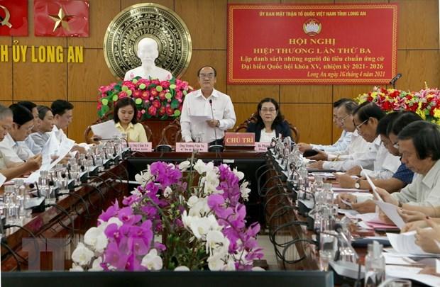 Localidades completan listas de candidatos para elecciones parlamentarias y de los Consejos Populares hinh anh 1