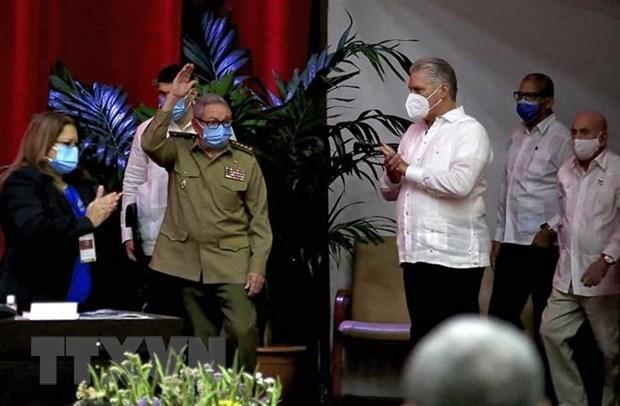 Felicita Vietnam octavo Congreso del Partido Comunista de Cuba hinh anh 1