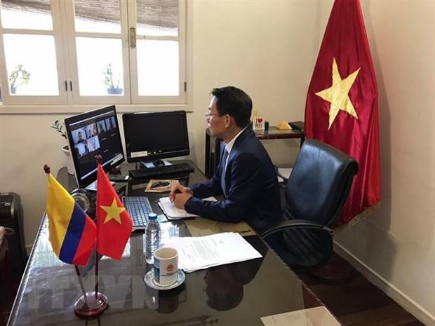 Vietnam y Colombia buscan agilizar lazos comerciales hinh anh 2