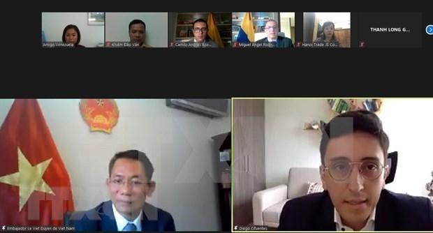 Vietnam y Colombia buscan agilizar lazos comerciales hinh anh 1