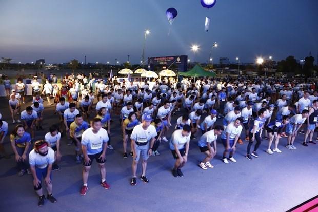 Nutrida participacion en Carrera PetroVietnam - Ca Mau 2021 hinh anh 1