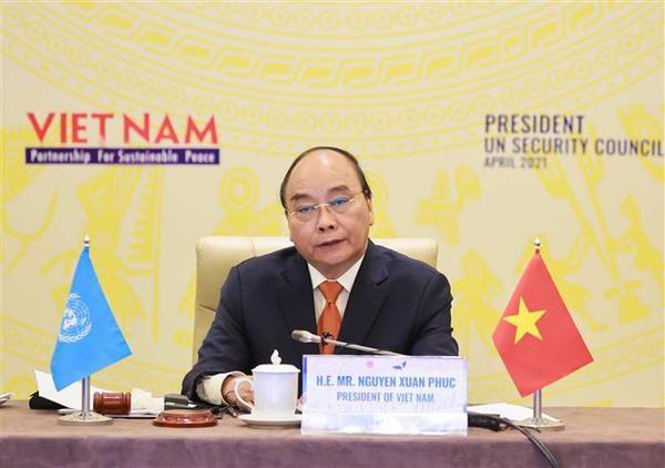 Confianza y dialogo son clave para la paz duradera, afirma Vietnam, presidente de Consejo de Seguridad hinh anh 3