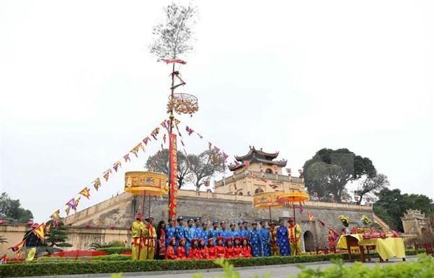 El levantamiento del cay neu en el palacio real de Hue hinh anh 1
