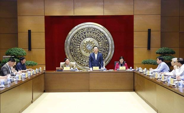 Exigen fomentar papel de Comision de Asuntos Judiciales en Parlamento de Vietnam hinh anh 1