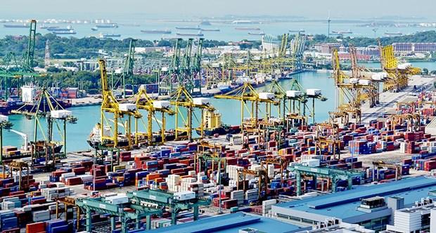 Singapur acelera reduccion de emision de gas de buques maritimos hinh anh 1