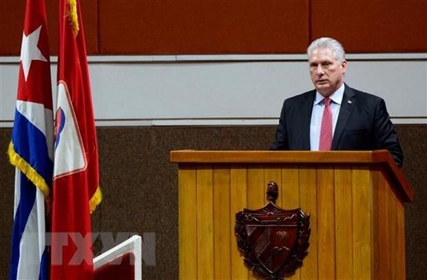Felicita Vietnam al Primer Secretario del Partido Comunista de Cuba hinh anh 1