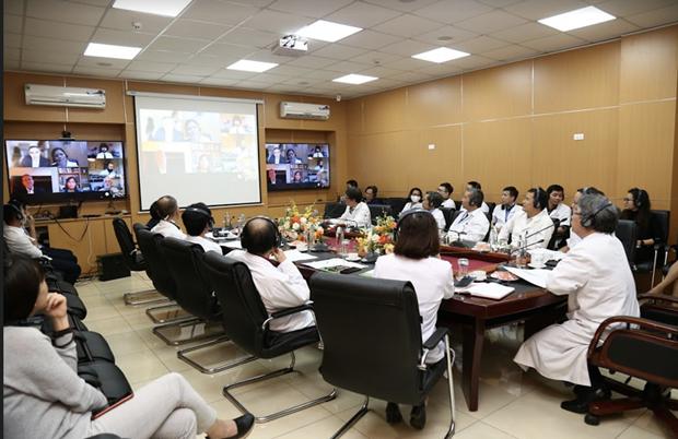 Reconocen a hospital de amistad Vietnam-Alemania como centro de formacion global hinh anh 1