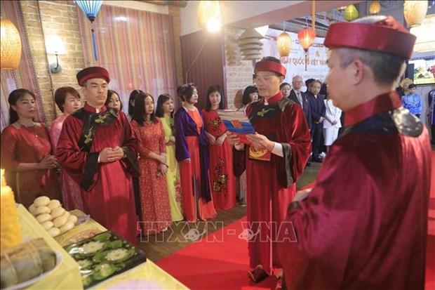 Celebran en Rusia evento global dedicado a los Reyes Hung hinh anh 1