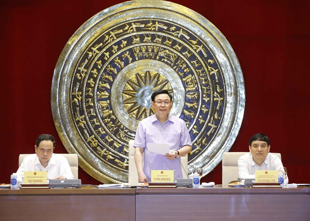 Presidente del Parlamento vietnamita exige fortalecer papel de la Comision de Cultura hinh anh 1