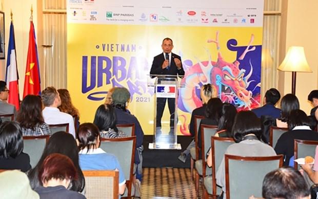 Celebraran evento de arte callejero en Ciudad Ho Chi Minh hinh anh 1
