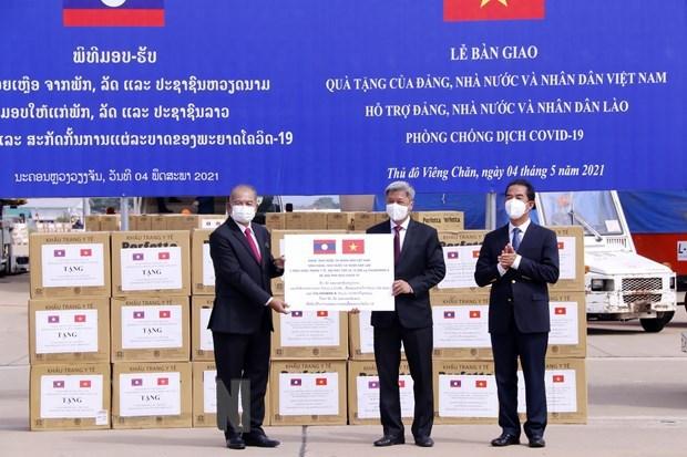 Vietnam se une con Laos y Camboya en lucha contra el COVID-19 hinh anh 1