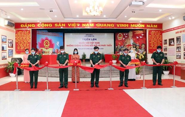 Inauguran exposicion sobre Asamblea Nacional de Vietnam hinh anh 1