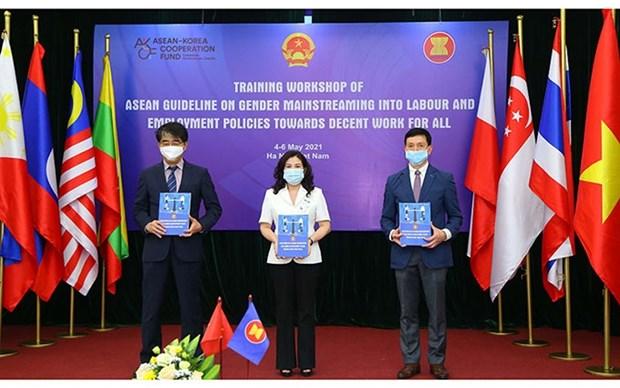 Vietnam y la ASEAN se esfuerzan por promover la igualdad de genero hinh anh 1
