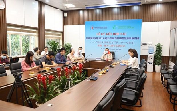Realizan chequeos medicos desde Vietnam a compatriotas en Japon hinh anh 1
