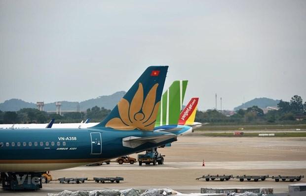 Aeropuertos de Vietnam atienden a 1,5 millones de viajeros durante los feriados hinh anh 1