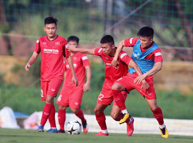 Convocan a 34 jugadores para seleccion sub-22 de Vietnam hinh anh 1