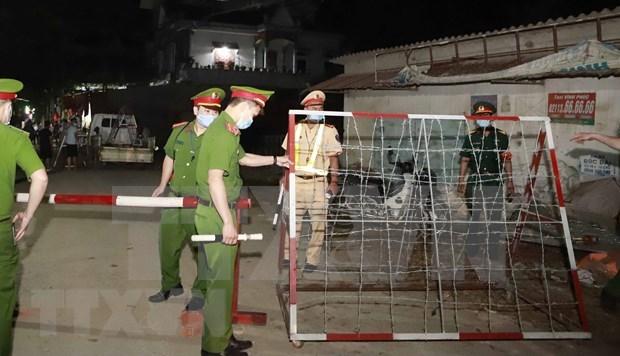 Refuerza provincia vietnamita de Vinh Phuc gestion de entrada de extranjeros hinh anh 1
