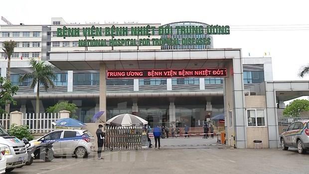 En cuarentena establecimiento del Hospital de Enfermedades Tropicales de Vietnam hinh anh 1